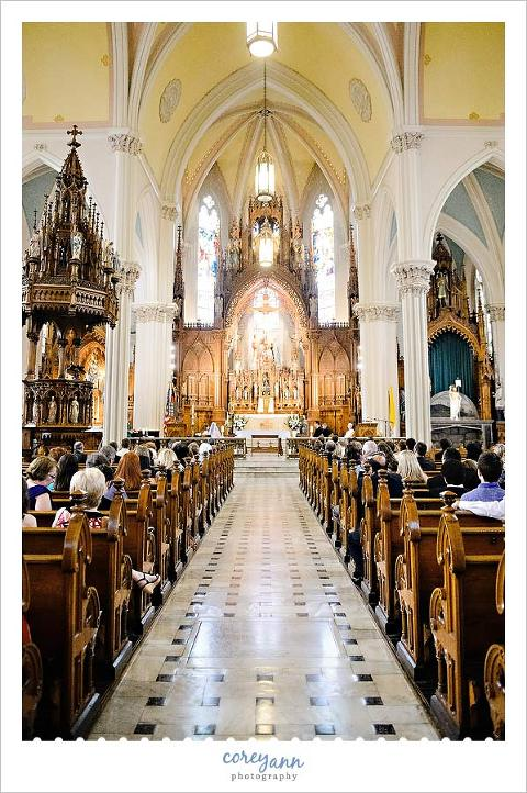 st stephen roman catholic church wedding ceremony