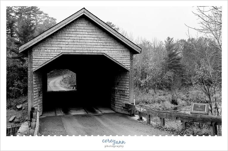 Robyville Covered Bridge in Maine