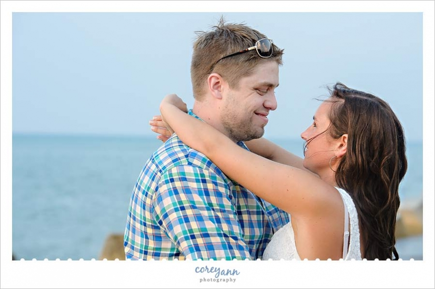 engagement portrait in northeast ohio