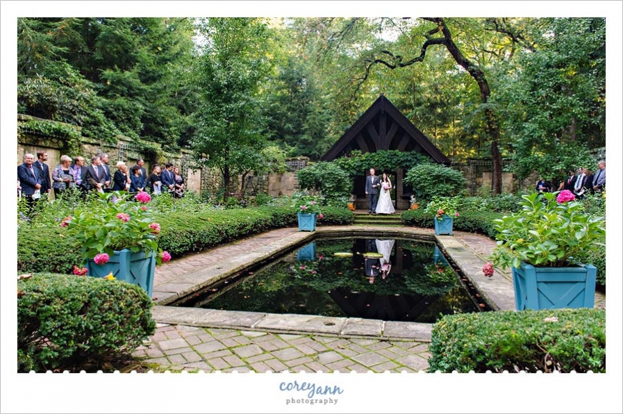 Stan Hywet Hall And Gardens Wedding Reception