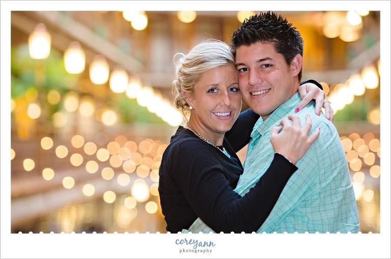 late autumn engagement session in cleveland ohio