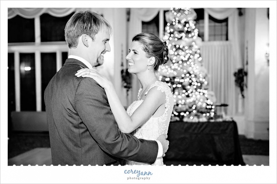 First dance at Pine Ridge Country Club in Wickliffe Ohio