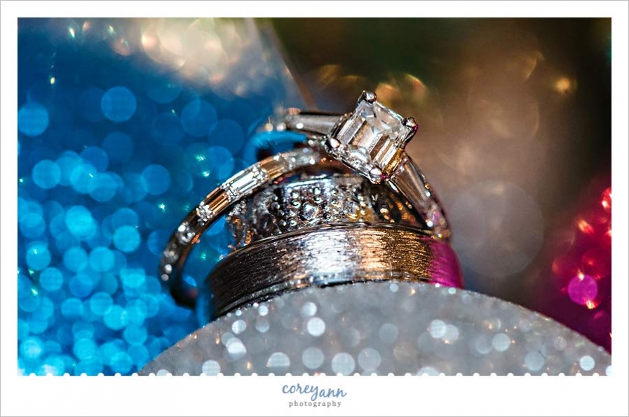 Wedding Rings on Ornaments