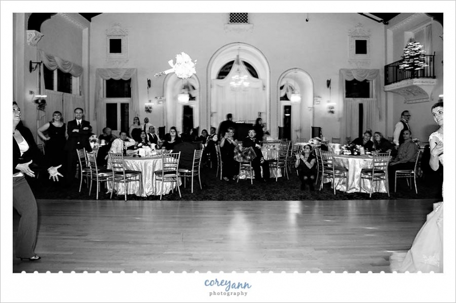 Wedding Reception at Pine Ridge Country Club in Wickliffe
