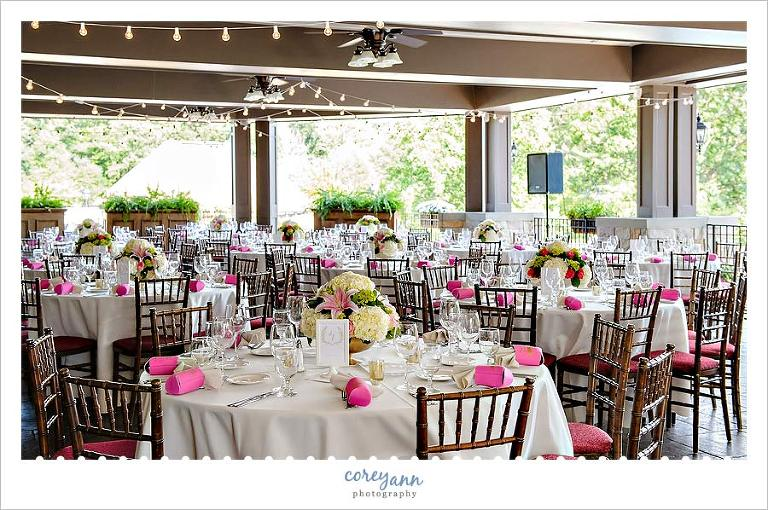 Wedding Reception At Mayfield Sand Ridge Club