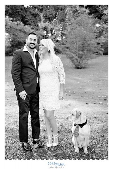canton ohio engagement session in october
