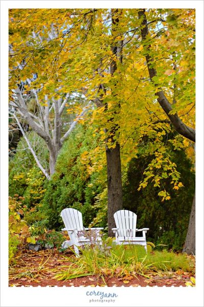 Adirondack chairs in Ogunquit Maine