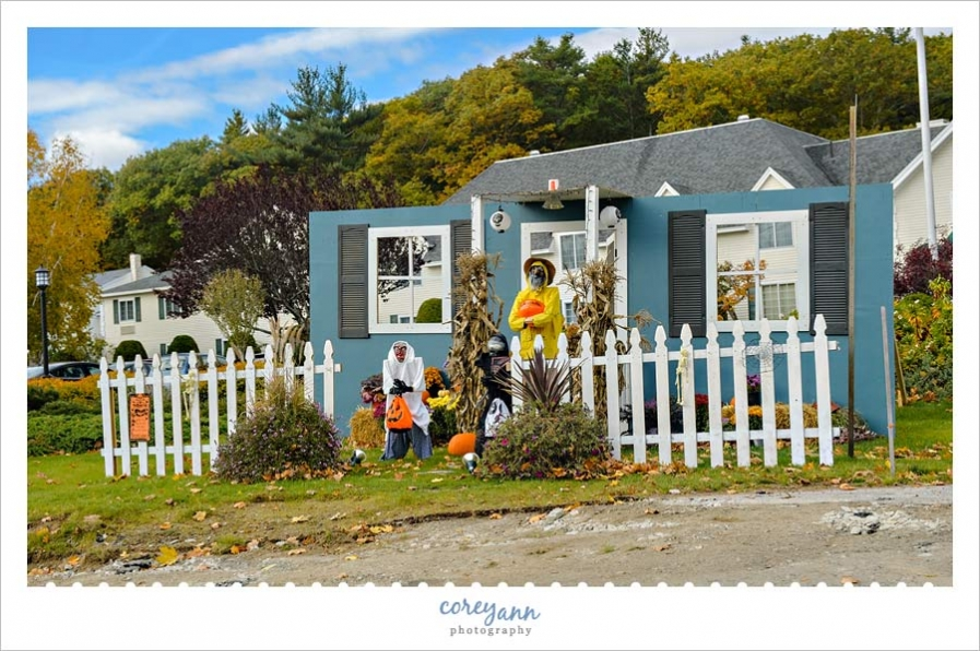 Gorges Grant Hotel Ogunquitfest Scarecrow Entry 2015