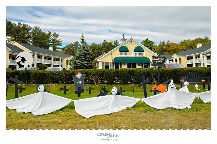 The Falls at Ogunquit Scarecrow for Halloween