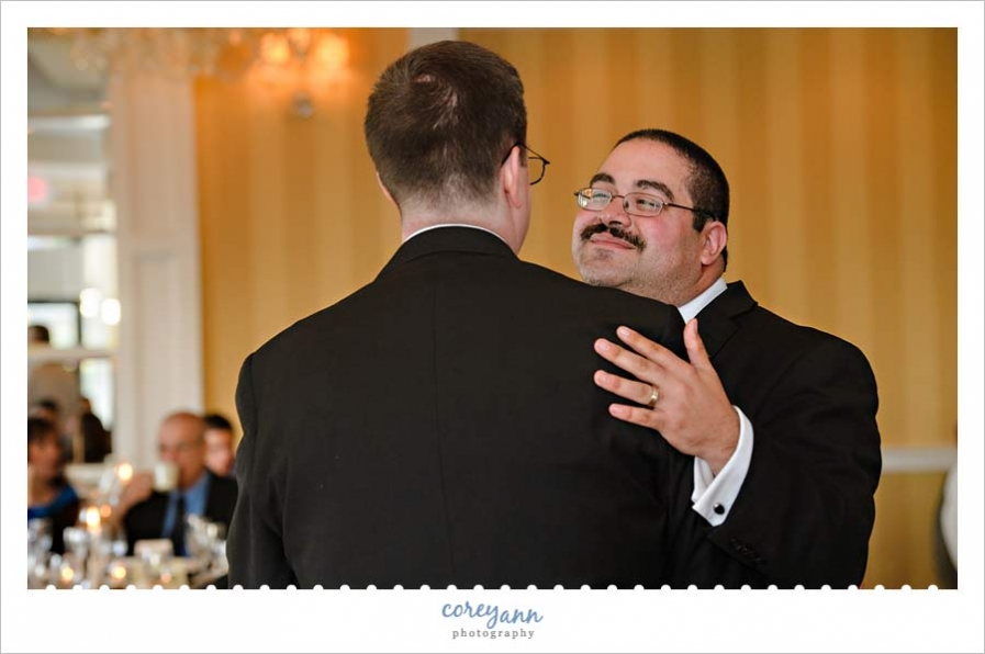 Wedding Reception First Dance at the Crowne Plaza