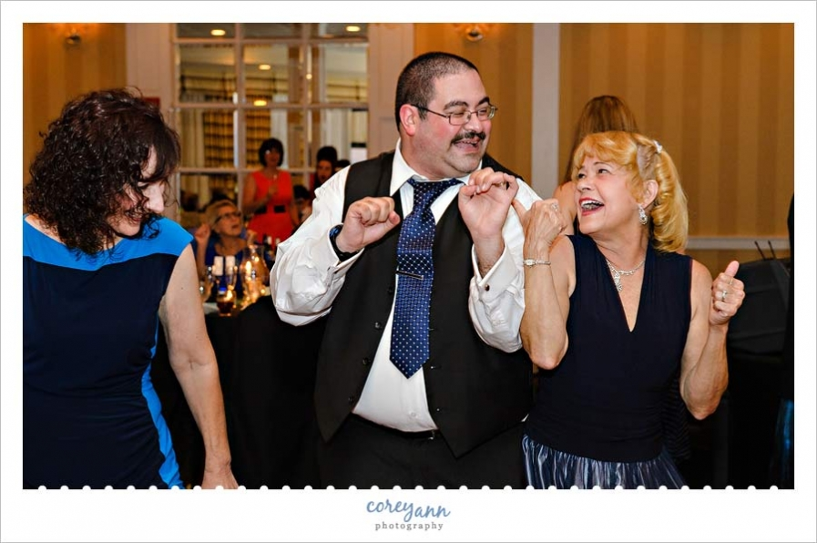 Wedding reception at the crowne plaza cleveland south