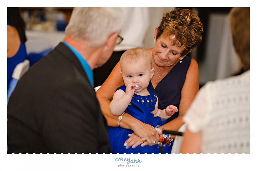 Wedding Reception at Historic Springvale Golf Course and Ballroom