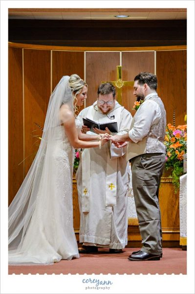 Wedding Ceremony at Chapel of the Cross United Methodist Church