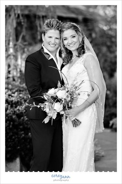 mid october same sex wedding at the cleveland botanical gardens