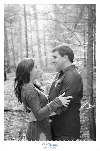 virginia kendall park engagement session in ohio