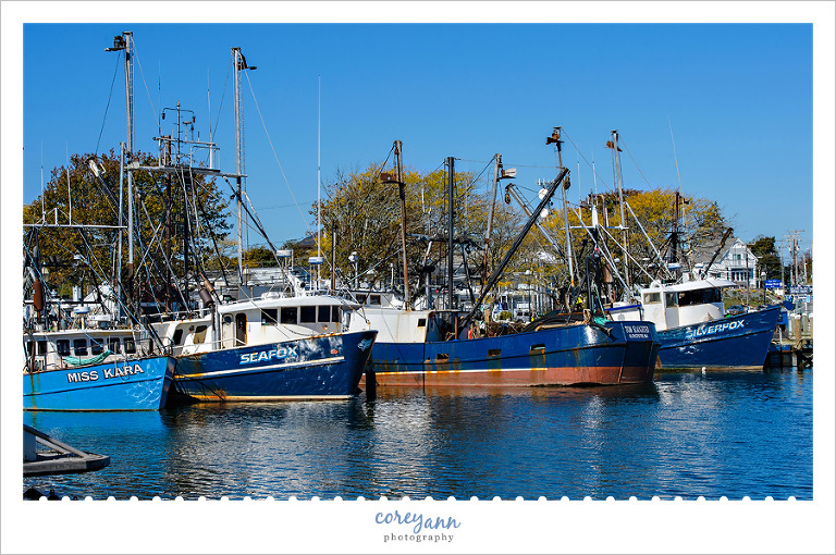 Hyannis harbor in Cape Cod