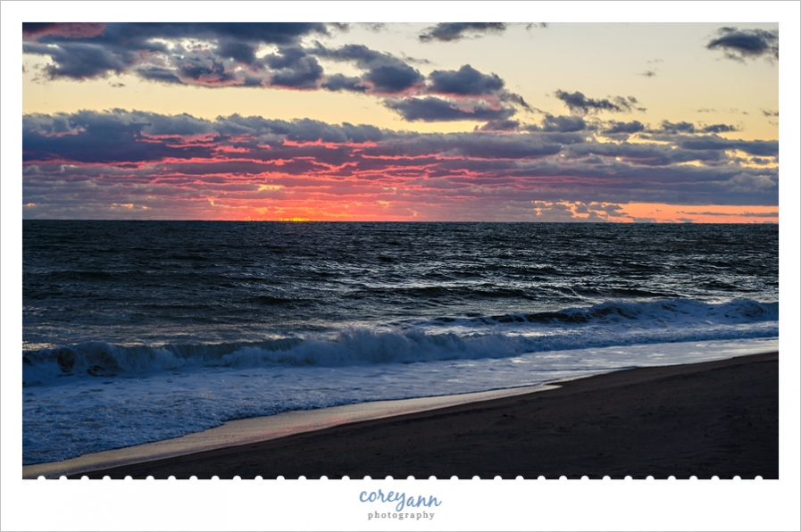 Madaket Beach on Nantucket at Sunset