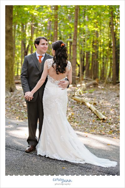 October wedding at Turkeyfoot Island Club