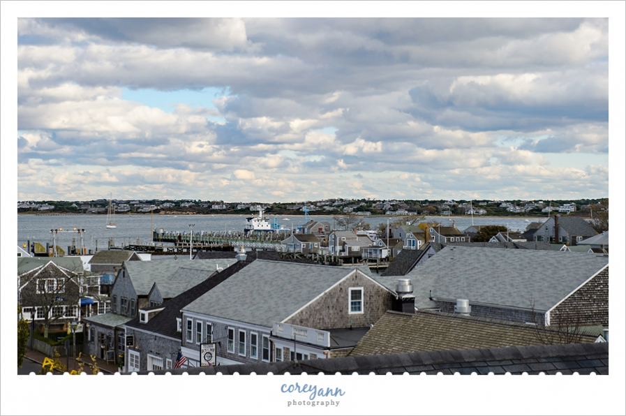 View of Nantucket from the Whaling Museum