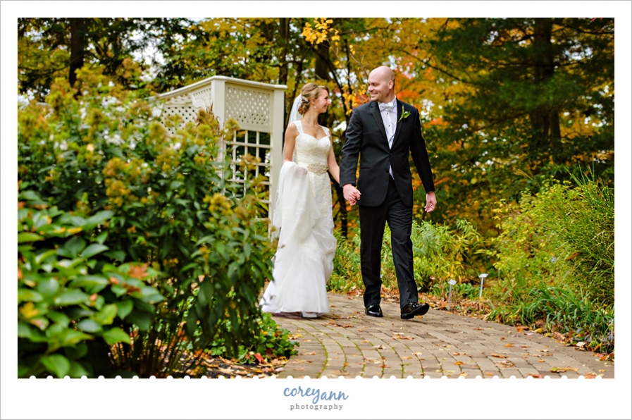 Fellows Riverside Gardens in Youngstown Ohio Wedding Photo