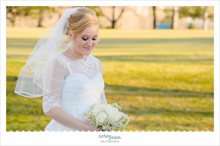 Bride portrait in Englewood Colorado