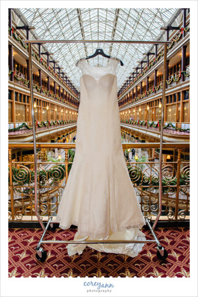 Augusta Jones Bridal Gown at Hyatt Cleveland