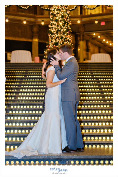 Wedding Ceremony at the Hyatt Regency Cleveland
