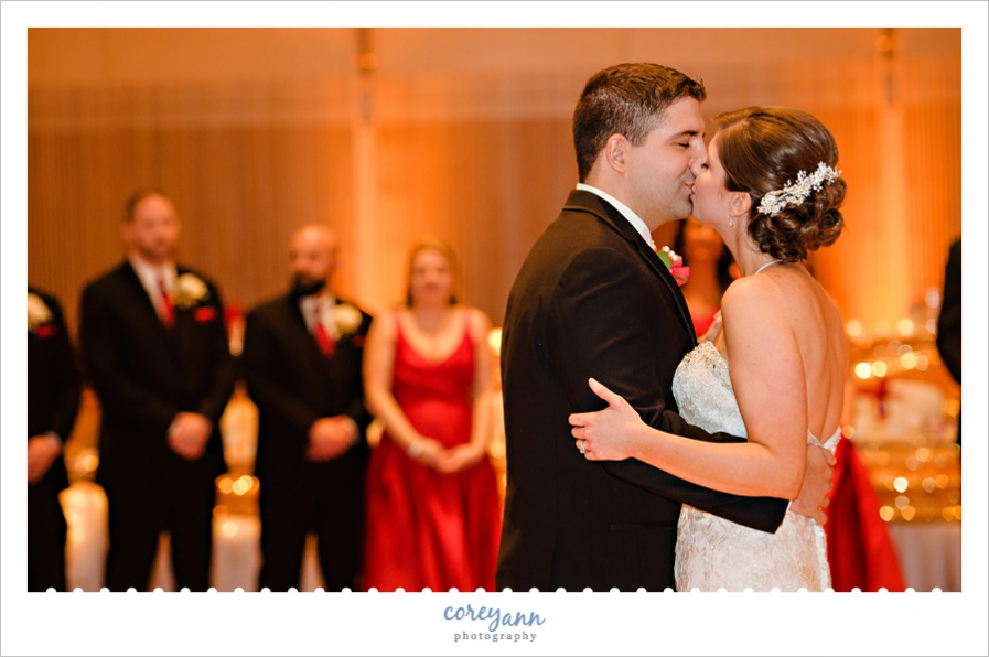 First dance at Bayfront Convention Center Wedding Reception