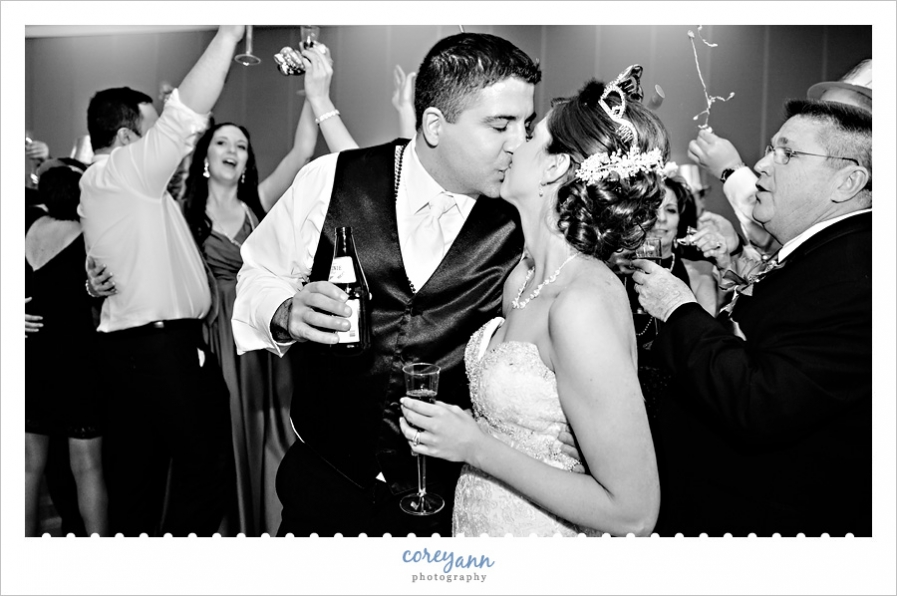 NYE Bayfront Convention Center Wedding Reception
