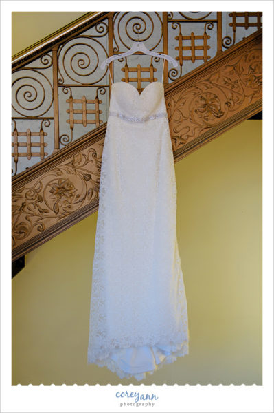 Wedding Dress at the Hyatt Arcade Cleveland