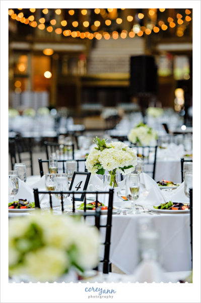 Black and White Wedding at Hyatt Arcade