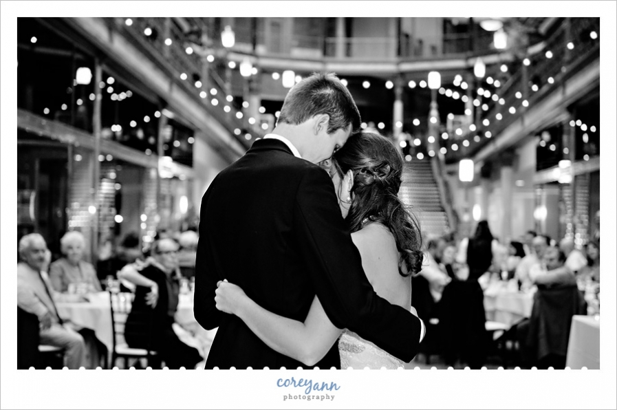 Wedding Reception at Hyatt Arcade Cleveland