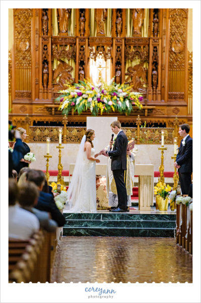 Wedding at Cathedral of St John the Evangelist