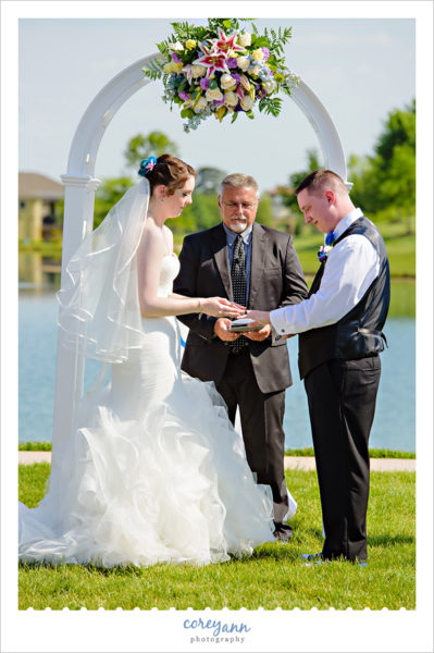 Outdoor Wedding Ceremony at Club at Corazon