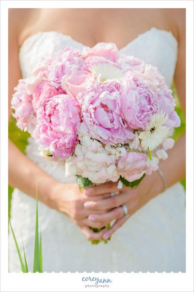 Peony Wedding Bouquet by Nikki