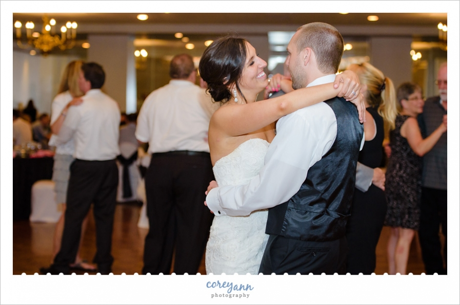 Wedding Reception at St Paul Hellenic Center