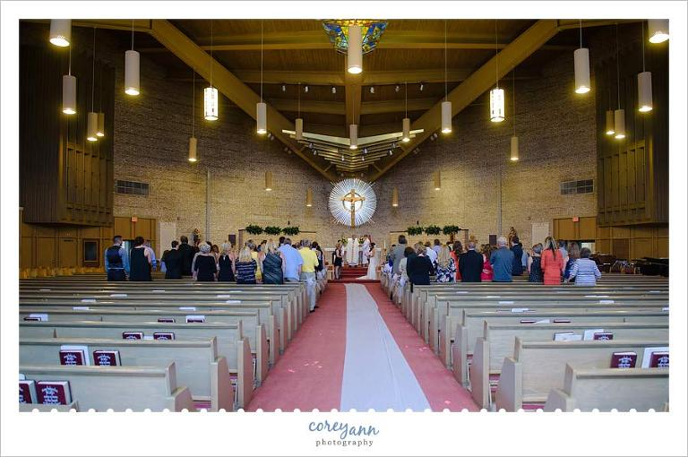 Wedding Ceremony at St Basil the Great