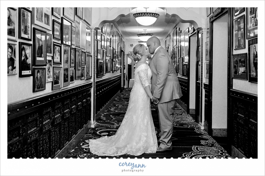 Bride and Groom wedding portrait at Tangier
