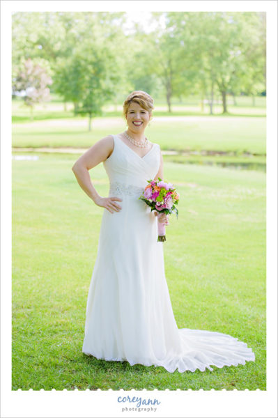 Skyland Pines Wedding Portrait in June