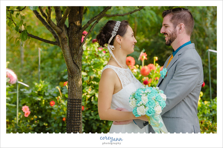 September Wedding at Miller Nature Preserve