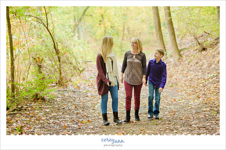 Fall Mini Session in Canton Ohio