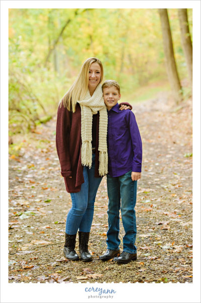 Canton Ohio Fall Mini Session