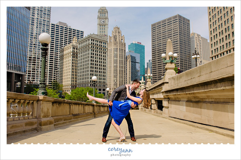 Chicago Engagement Session in May