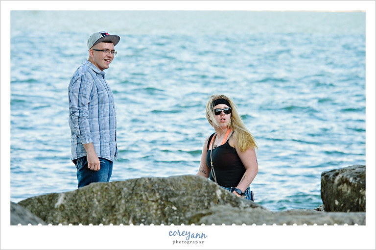 Marblehead Lighthouse Engagement Proposal