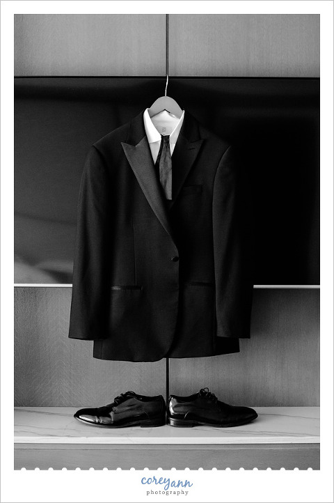 The Black Tux Suit for Wedding