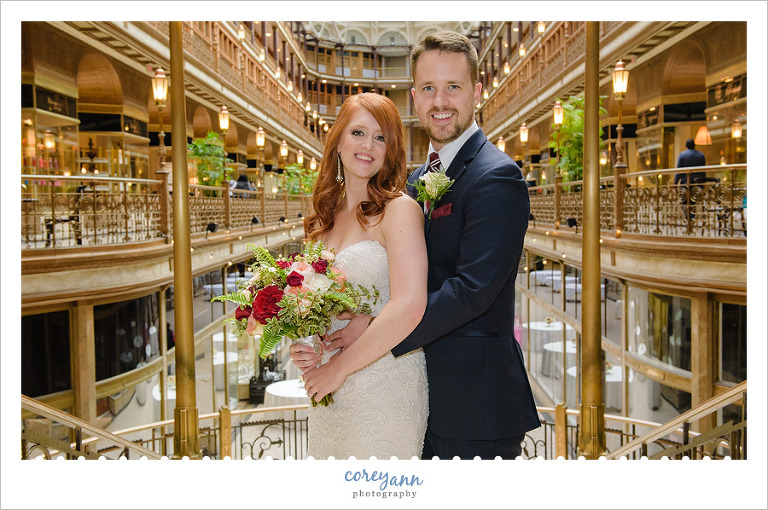 Hyatt Arcade Cleveland Wedding