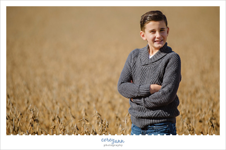 Fall Family mini session in Green Ohio