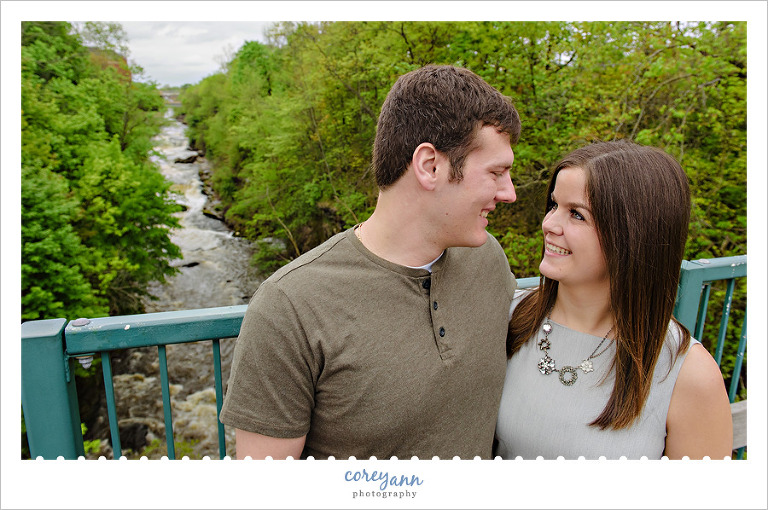 Cuyahoga Falls Engagement Session in Ohio