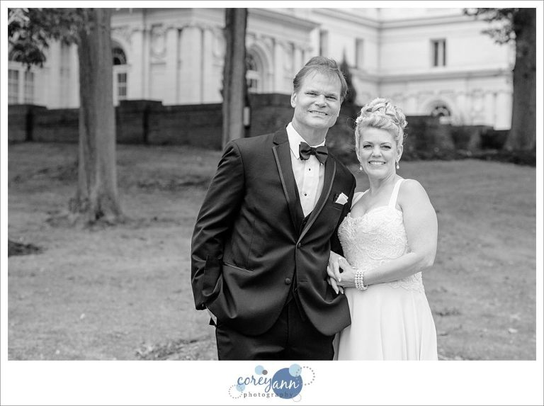 Wedding portrait at Coulby Mansion