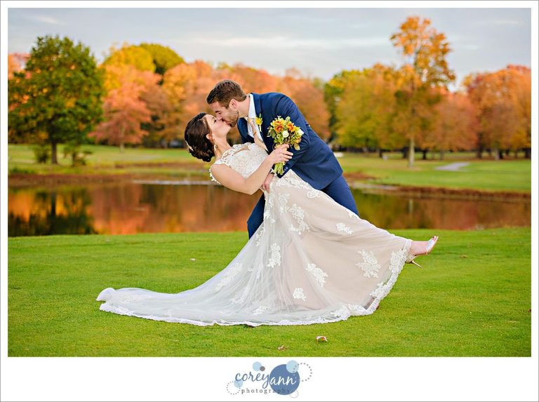 October wedding at The Tanglewood Club